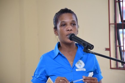 Nathalie Griffith, Regional Malaria Programme Supervisor, Region Seven