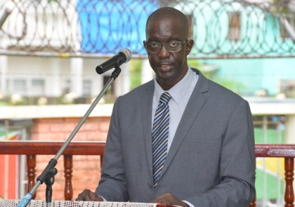Commissioner and Chief Executive Officer of the Guyana Lands and Surveys Commission (GL&SC), Mr. Trevor Benn