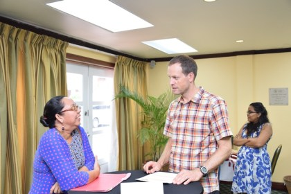 Local and international tour operators interacting