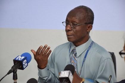 Dr. William Adu-Krow, Pan American Health Organisation/World Health Organisation (PAHO/WHO) Country Representative to Guyana