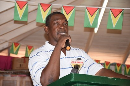 Mayor of Lethem, Carlton Beckles