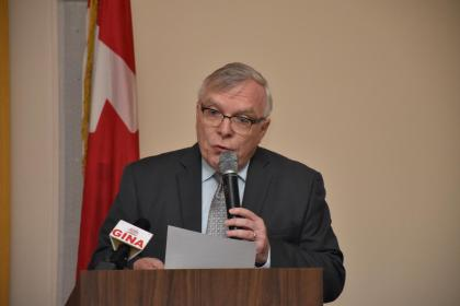 High Commissioner of Canada, Pierre Giroux