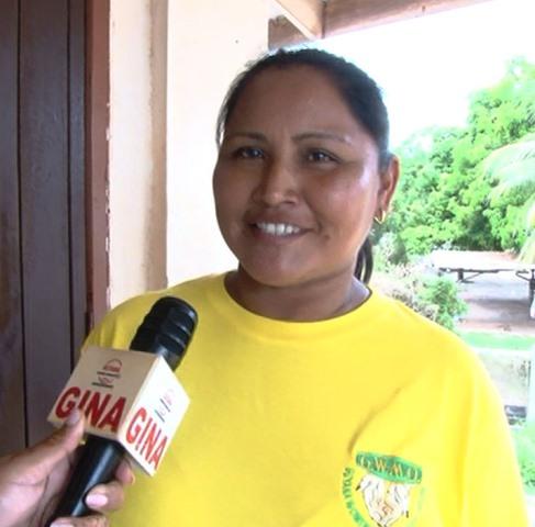 Tehanita Baretto, a small miner in Region Nine