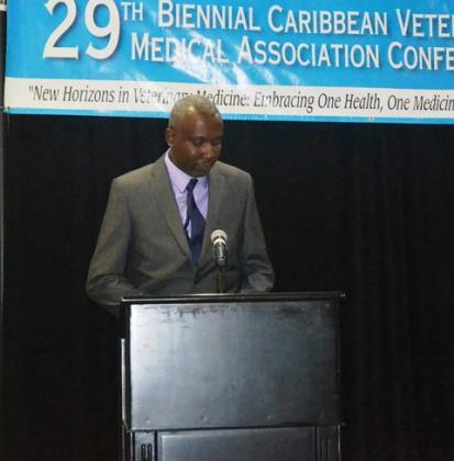 President of the Guyana Veterinary Association, Dr. Nicholas Waldron
