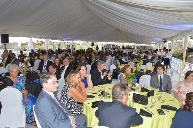 a section of the attendees at the Toast to the Nation event