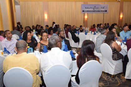 Employees and special guests at the Guyana Shipping Association  20th Anniversary at the Pegasus Hotel, Kingston