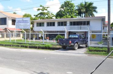 A photo of the Ministry of Public Health's Mental Health Unit located in Quamina Street, Georgetown