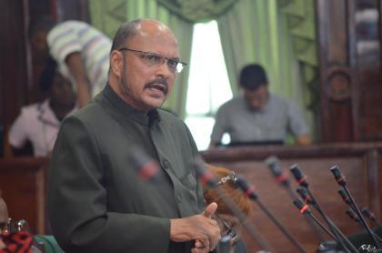 Opposition Member of Parliament, Dr. Bheri Ramsarran