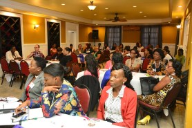 A section of the audience at the YLAI Women's Conference