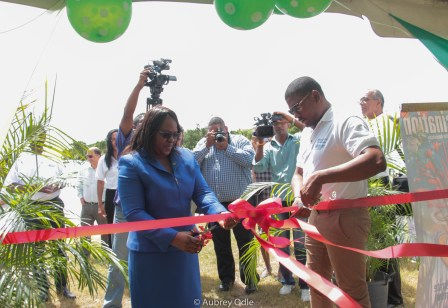 Opening of the Health Fair - Public Park Nieuw Nickerie
