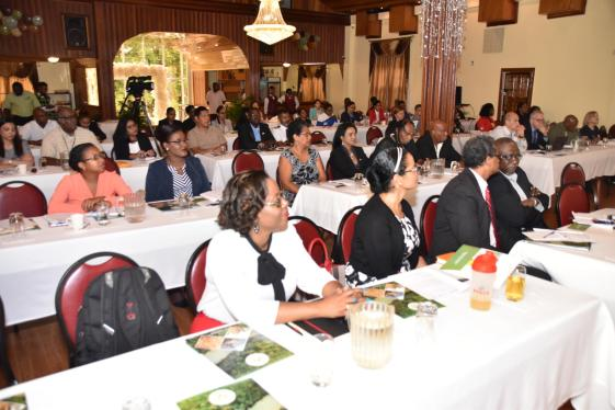 Stakeholders at the two day Oil and Gas Sector Seminar at the De' Impeccable Banquet Hall