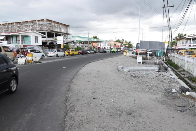 Road works to be completed at Vreed-en-Hoop