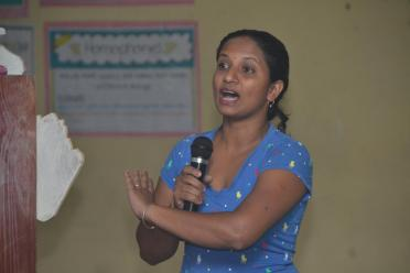 Residents of La Parafait Harmonie raising concerns