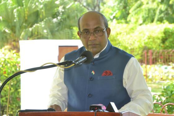 Indian High Commissioner, Venkatachalam Mahalingam