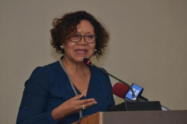 Minister within the Ministry of Indigenous Peoples Affairs, Valerie Garrido-Lowe.