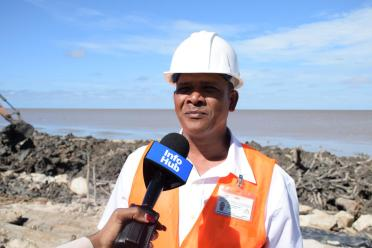 Project Coordinator, Ministry of Public Infrastructure, Dennis Ramsingh