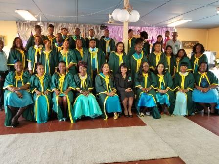 The graduating class