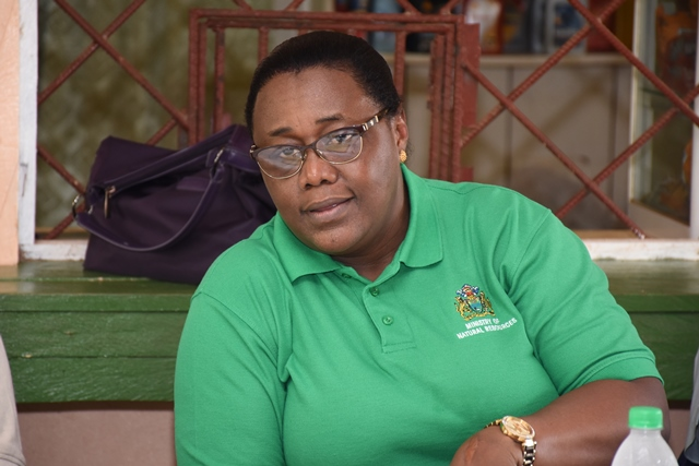 Minister within the Ministry of Natural Resources Simona Broomes
