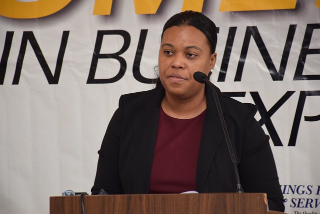 Ministerial Advisor at the Ministry of Social Protection Alicia Reece