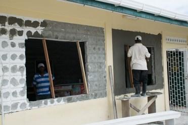 Works continue on the Anna Regina Health Centre