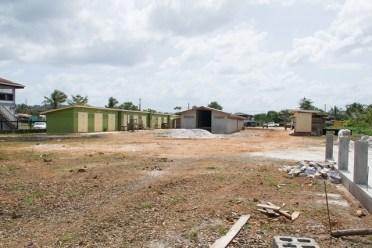 The multimillion dollar Kumaka Marketing Tarmac near completion