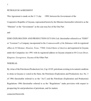 Gaskin Corrects Teixeiras Misinformation On Exxons Psa With The