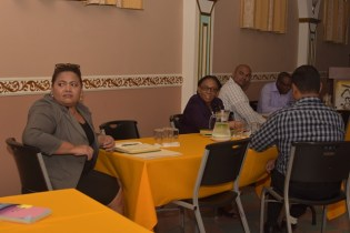 Some of the stakeholders attending the ministry's meeting