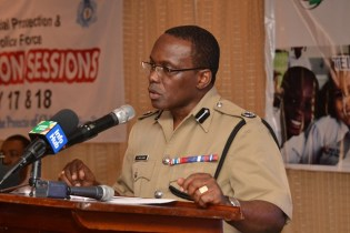 Commissioner of Police (ag) Paul Williams