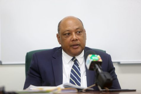 Minister of Natural Resources Raphael Trotman