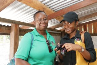 Rhonda Nelson, Business Development Officer (Right) & Tiffany Babb Micro Credit Officer (Left)MOSP