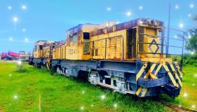 The bauxite trains
