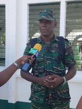 Director General (ag), Civil Defense Commission (CDC) Lt. Col. Kester Craig