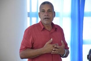 Gordon Bradford, Regional Chairman, Cuyuni-Mazaruni Region.