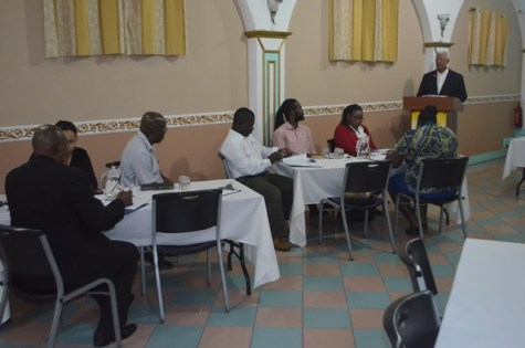 A section of participants at the workshop.