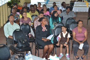 Scenes from the Ministry of Education's Inclusion Professional Development Course launch.