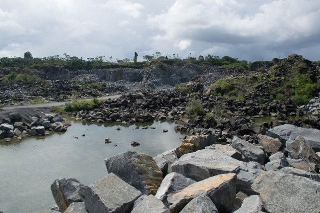 Toolsie Persaud Limited St Mary Quarry in the Essequibo River floor to be cleaned.