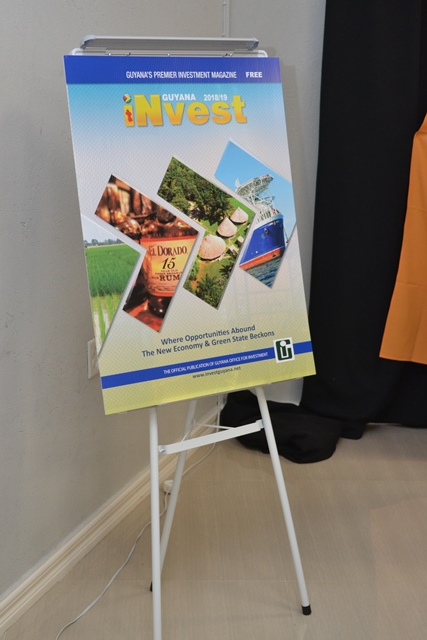 A poster of the 2018/2019 iNvest Guyana Magazine.