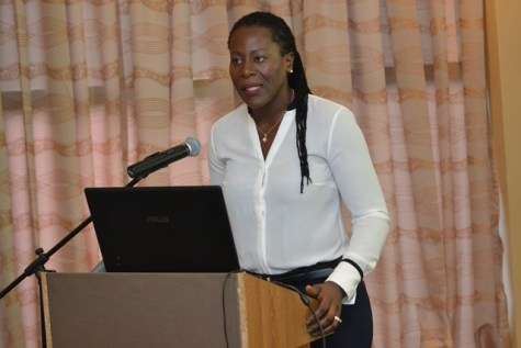 Head of Department of Environment, Ndibi Schwiers.