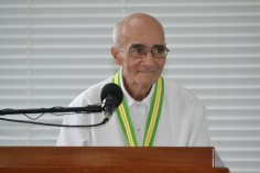 Father Malcolm Rodrigues officiating the service.