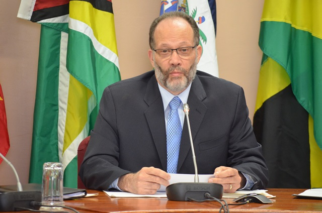 CARICOM Secretary General Ambassador Irwin LaRocque.