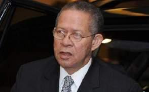 Former Jamaican Prime Minister Mr. Bruce Golding.