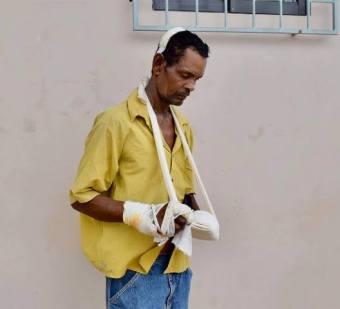 Survivor Darmandew Persaud.