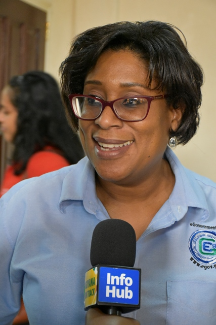 Minister of Public Telecommunications, Catherine Hughes