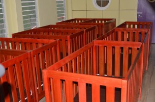 Some of the facilities in the Anna Catherina Early Childhood Development Centre