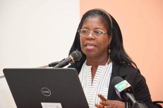Head of Audiology Department at GPHC, Dr. Ruth Quaicoe