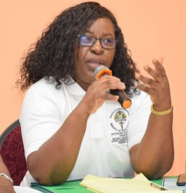 Minister within the Ministry of Public Health, Dr. Karen Cummings