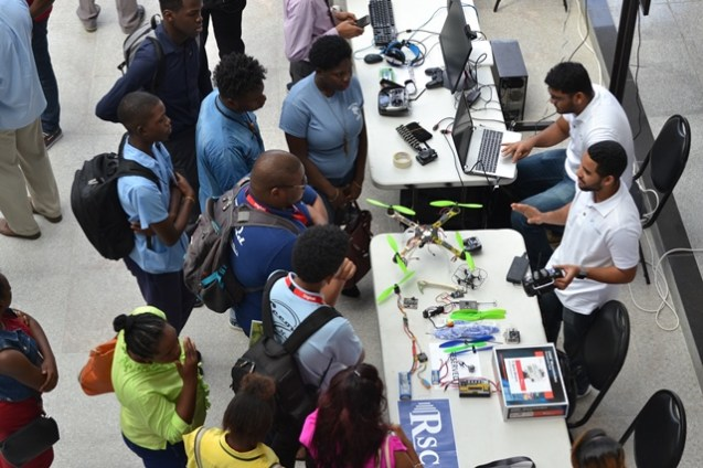 Scenes from the ICT Youth Fairs