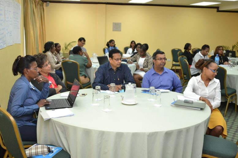 A section of those who participated in the workshop