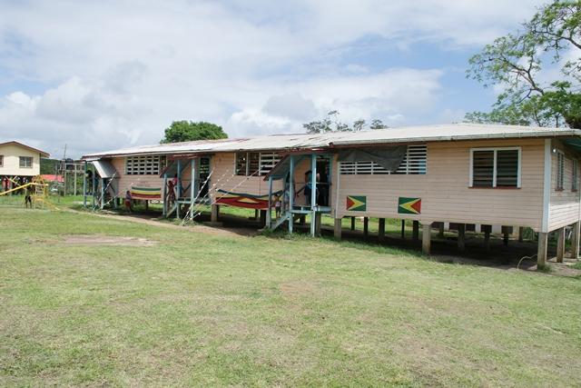 The current Baramita Primary School.