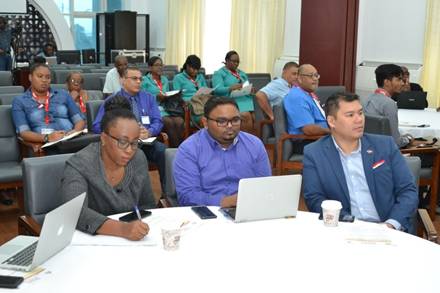 Participants engaged at the Digital Financial Services Workshop.